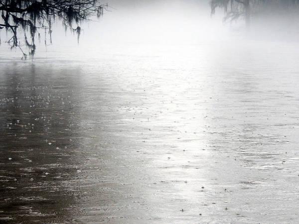 Rain On The Flint Poster