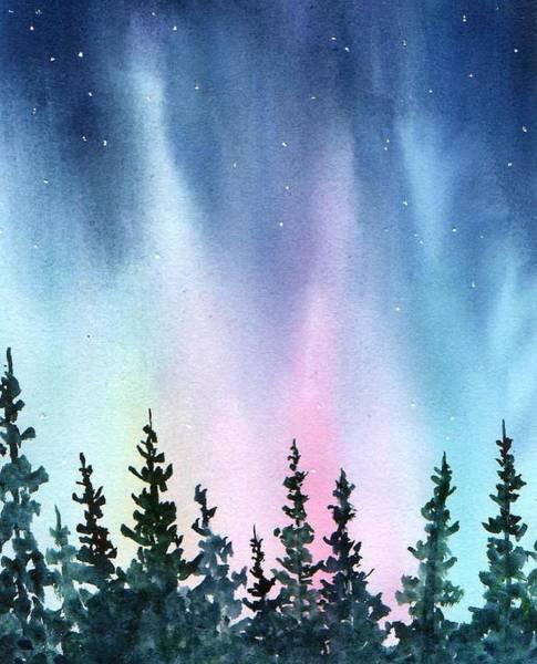 Rainbow Night Poster