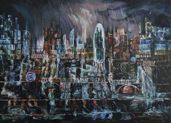 Rainy Reflections Poster