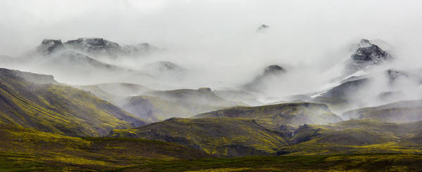 Ramble Thru The Mountains I Poster