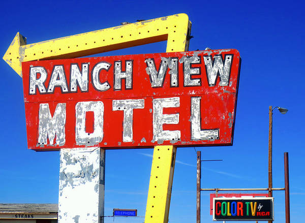 Ranch View Motel Poster