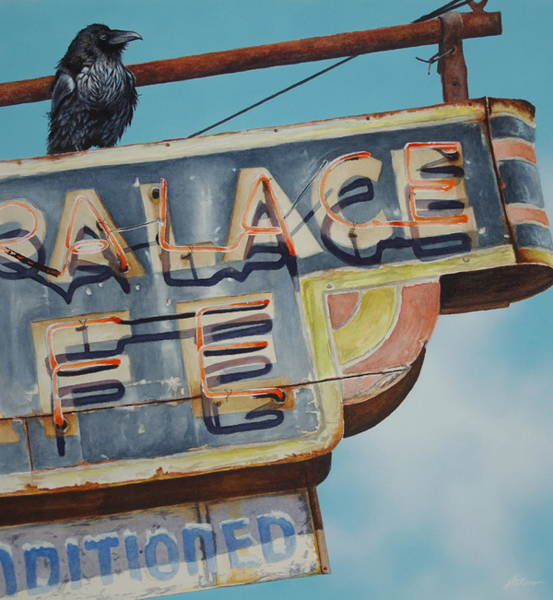 Raven And Palace Poster