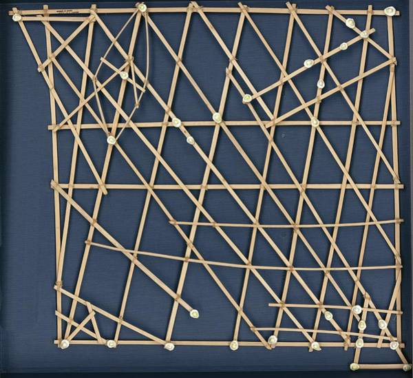 Rebbelib Stick Map Poster