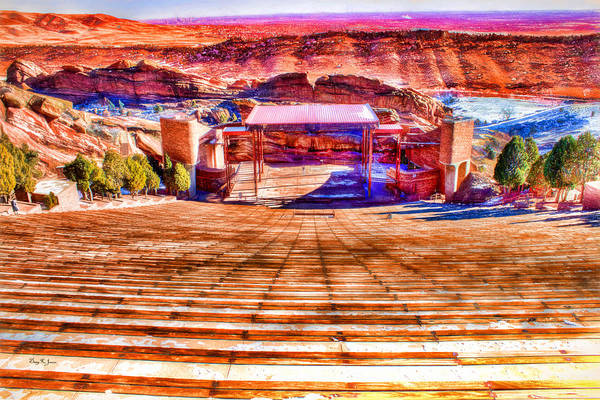 Colorado - Famous - Red Rock Amphitheater Poster
