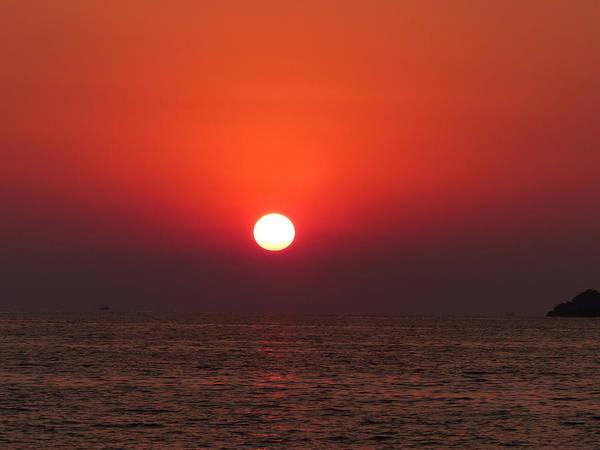 Playa La Ropa Sunset Poster