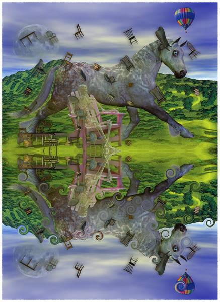 Reflective Oz Poster