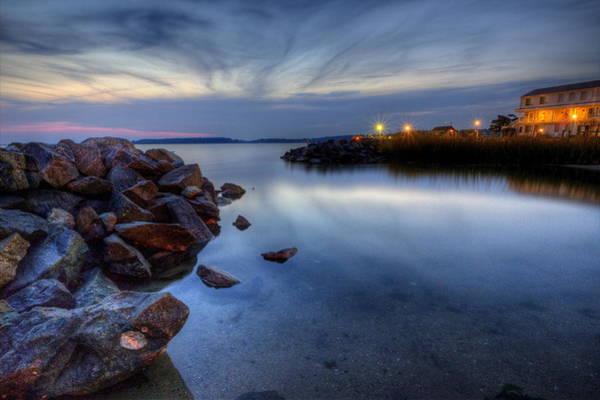 Rehoboth Bay Sunset At Dewey Beach Poster