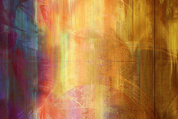 Reigning Light - Abstract Art Poster