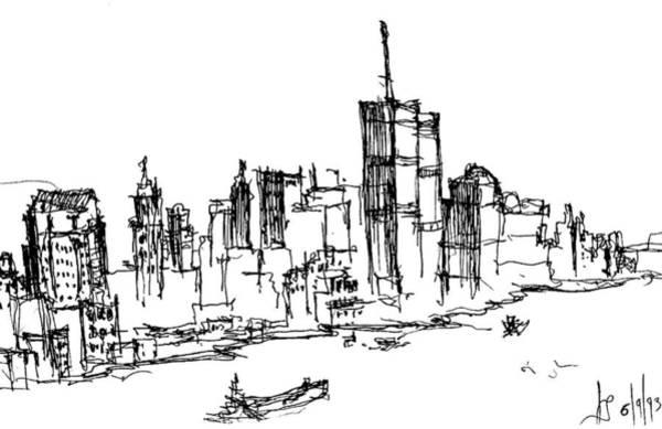 Remember World Trade Center Poster