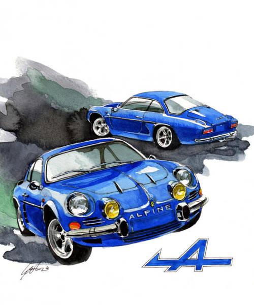 Renault Alpine A110: Renault Alpine Posters