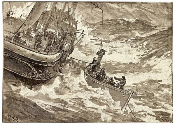 Rescue At Sea. Poster