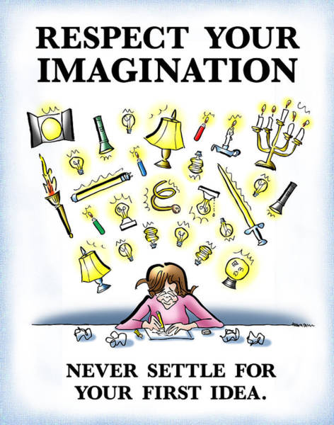 Respect Your Imagination Poster