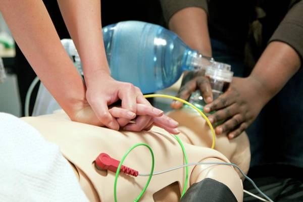 Resuscitation Training Poster