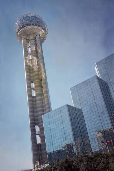 Reunion Tower Dallas Poster