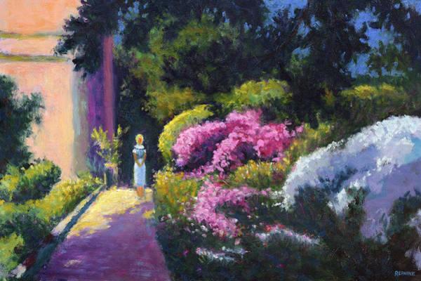 Richards Dar House Garden Light Poster