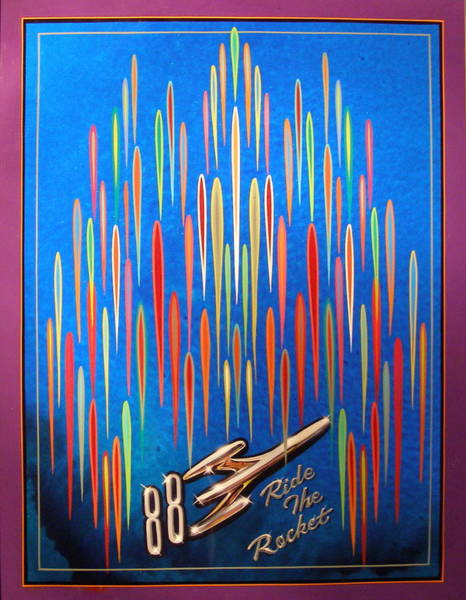 Ride The Rocket 88 Poster