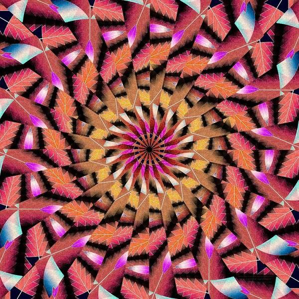 Rippled Source Kaleidoscope Poster