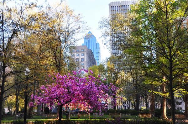 Rittenhouse Square In Springtime Poster