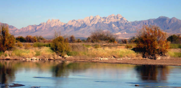 River View Mesilla Panorama Poster