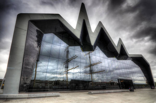 Poster featuring the photograph Riverside Museum by Ross G Strachan
