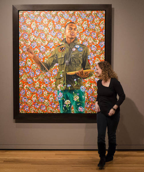 Robin And Anthony Of Padua By Kehinde Wiley  Poster