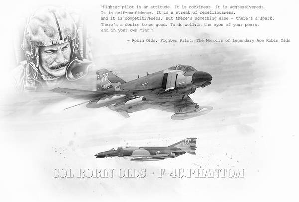 Robin Olds Poster