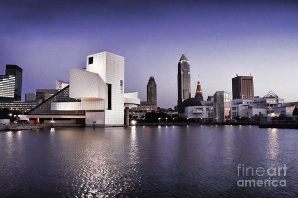 Rock And Roll Hall Of Fame - Cleveland Ohio - 2 Poster