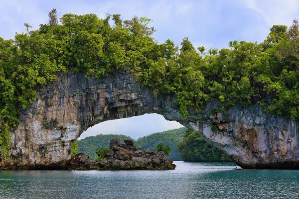 Rock Bridge, Rock Islands, Palau Poster