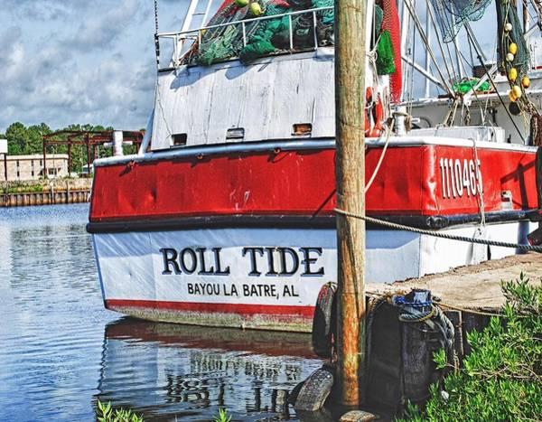 Roll Tide Stern Poster