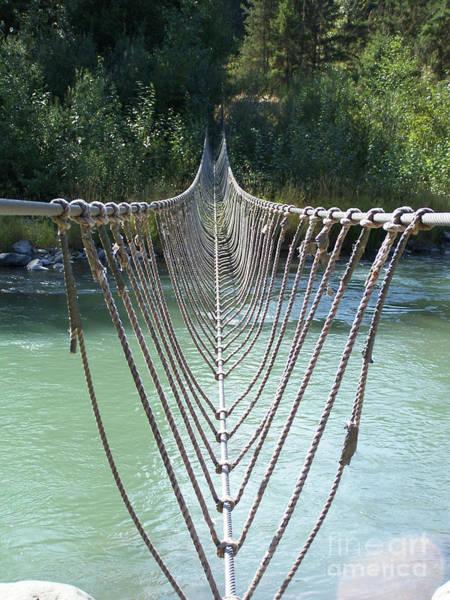 Rope Foot Bridge Poster