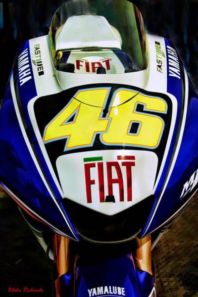 Rossi Yamaha Poster