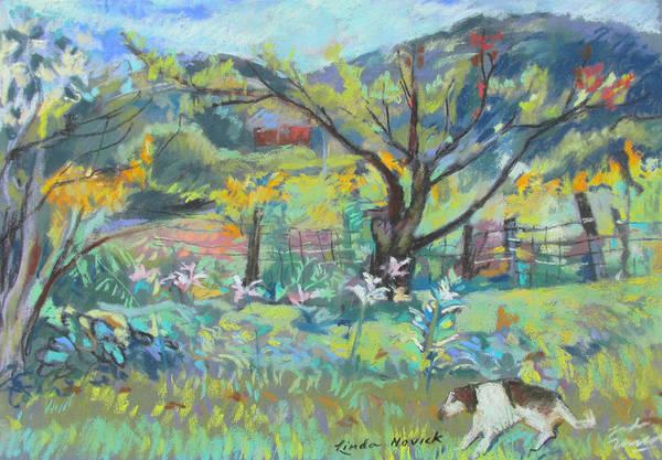 Ruby Runs Through Under Mountain Farm Poster