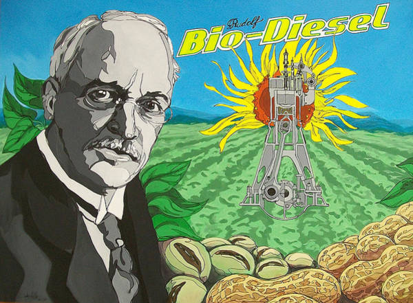 Rudolf Bio-diesel Poster