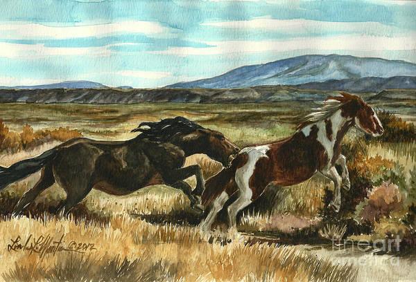 Run Little Horse Poster