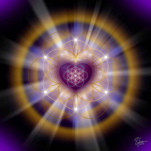 Sacred Geometry 204 Poster
