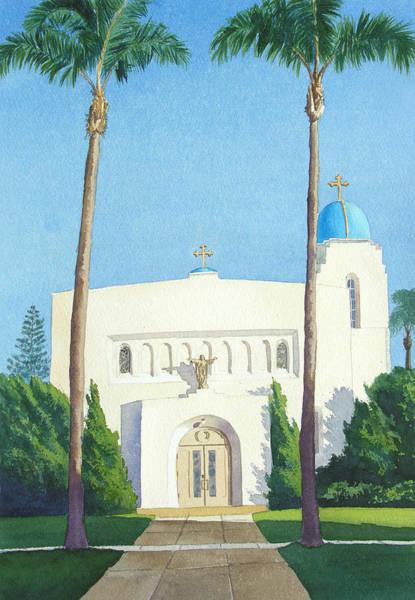 Sacred Heart Church Coronado Poster