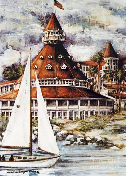 Sailing The Del Poster