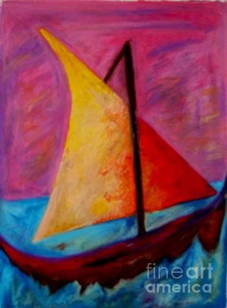 Sailing The Seas Poster
