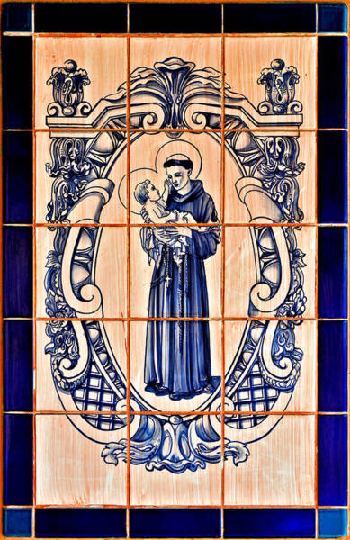 Saint Anthony Of Padua Poster