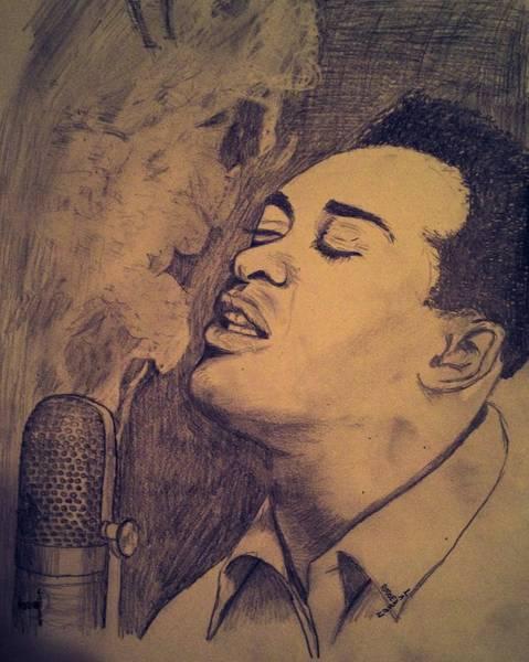 Sam Cooke Sings Poster