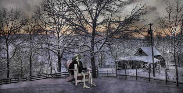 Sam Visits Winter Wonderland Poster