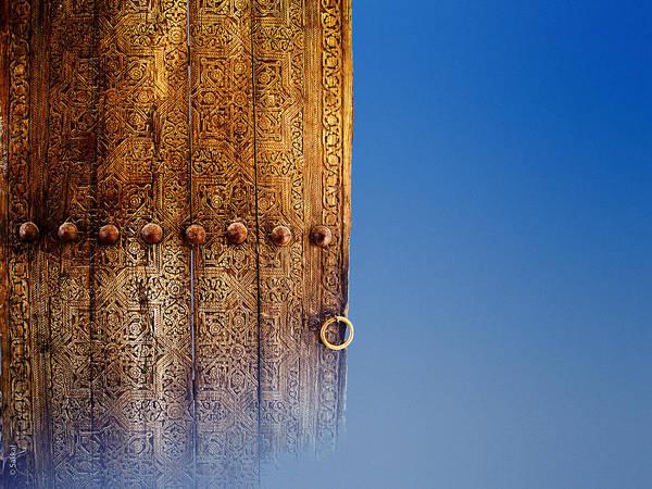 Samarkand Door Poster