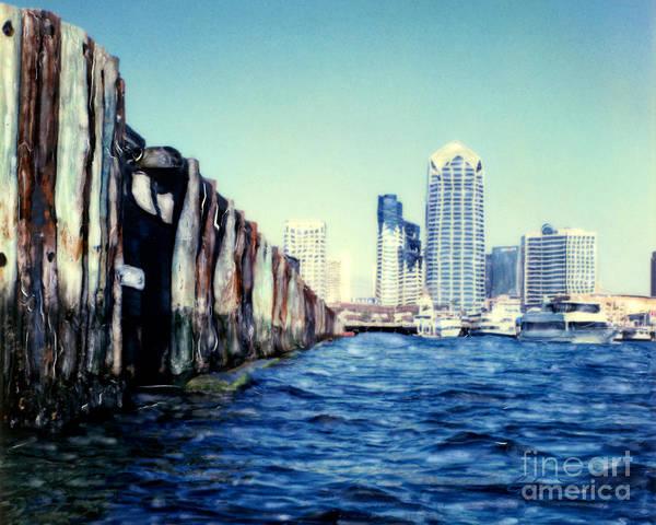 San Diego Broadway Pier Poster