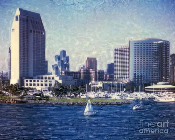 San Diego Sailing Poster