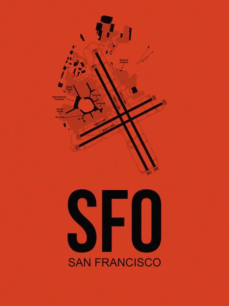 San Francisco Airport Poster 2 Poster