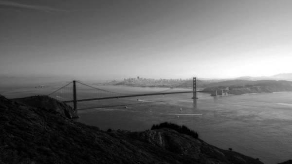 San Francisco Bw Poster
