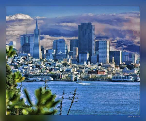 San Francisco From Alcatraz Poster