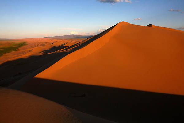 Sand Dunes In The Gobi Desert Poster