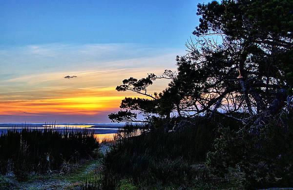 Sand Lake Sunset Poster