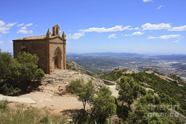 Sant Joan Chapel Spain Poster